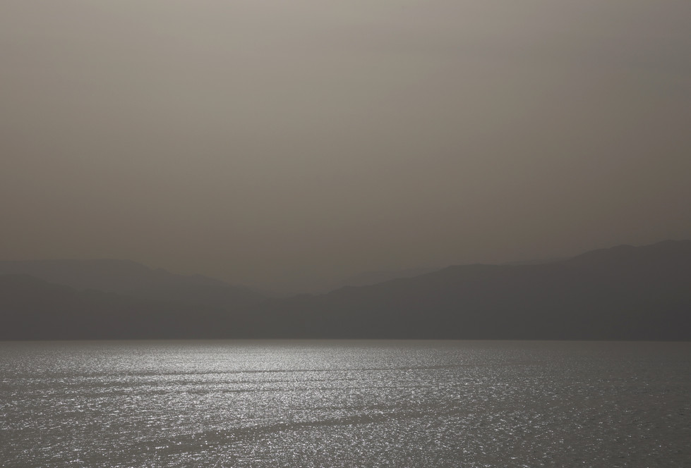 The Dead Sea in the Dust