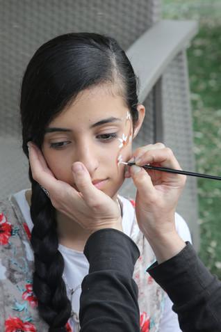 Shani, Make-Up artist