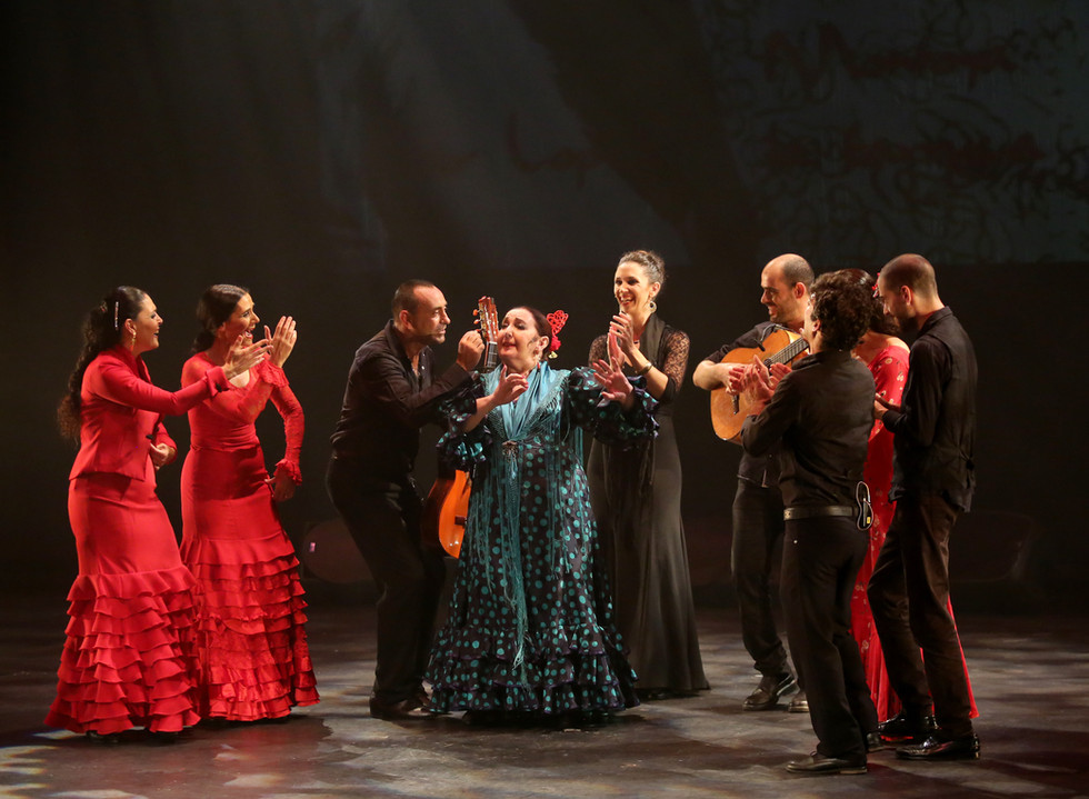 Silvia Duran in 'Mujeres', a tribute to four great flamenco women