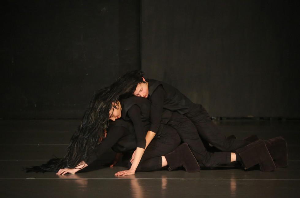 Nina Traub, Meshi Olinki and Carmel Ben Asher in 'Waterfalls' by Nina Traub