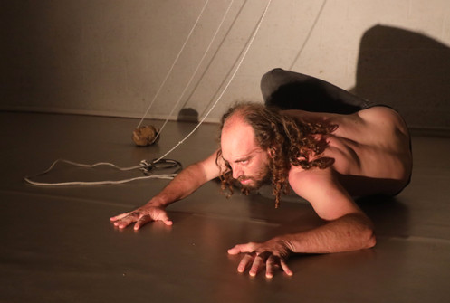 'Lived' by Avinoam Sternheim, performed at the end of a course 'Learning Creation Processes' by Tamar Borer