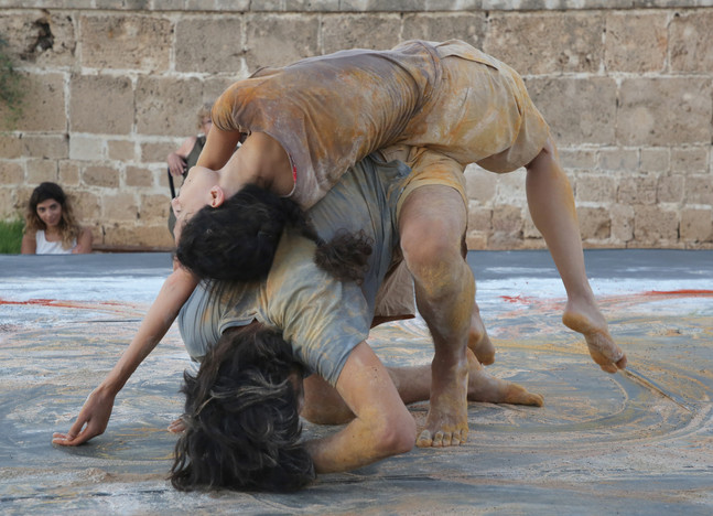 'Makam' by Orit Shaul Meiri in collaboration with Shahar Ben Ami, performed in Acco Festival 2018