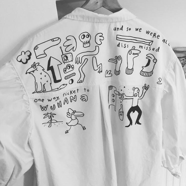 Uncle Pop Shirt Dress