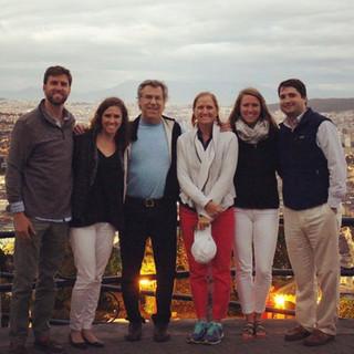 Brad and family