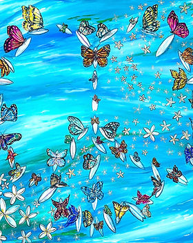 Paddle Out For Peace Surf Artist Missy T