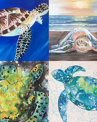 Turtles Pescado Y Amor