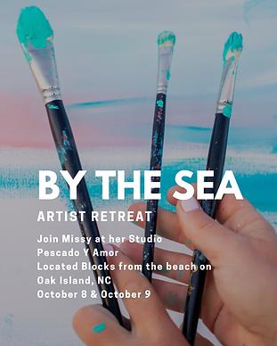 By The Sea Artist Retreat By Fine Artist