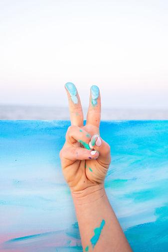 Peace Surf Artist Missy Tripp Ronquillo