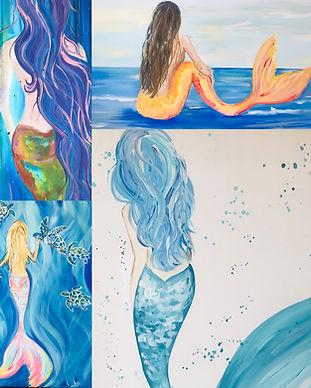 Choose A Mermaid Painting Missy Tripp Ro
