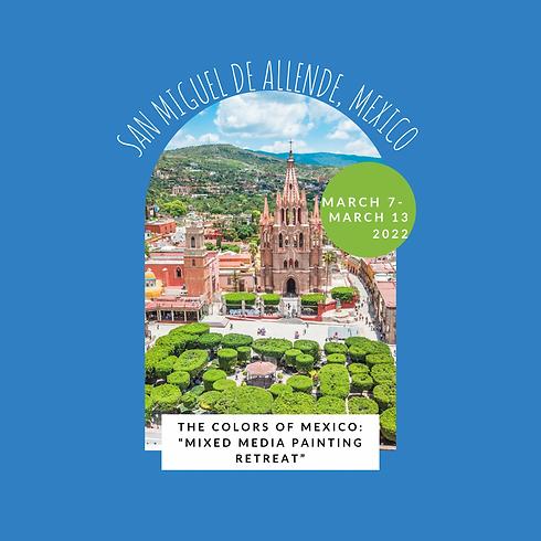 San Miguel de Allende Mexico Retreat wit