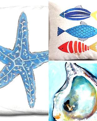 Pillows Pescado Y Amor