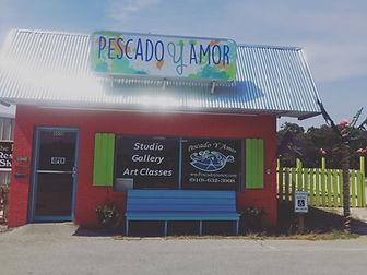 View of studio...Pescado Y Amor