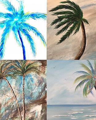 Palm Trees Pescado Y Amor