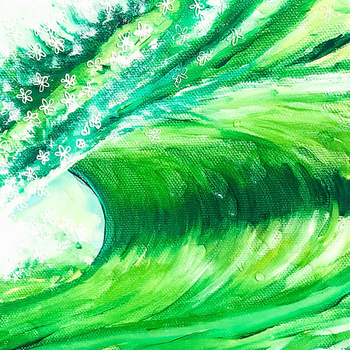 Happy InThe Emerald Sea