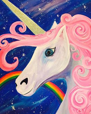 Rainbow Unicorn Pescado Y Amor