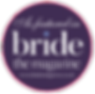 As featured in Bride The Magazine
