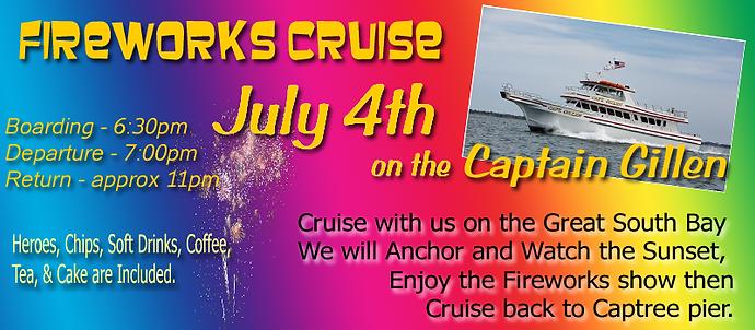 Jones Beach Fireworks Cruise