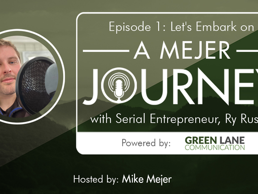 Episode 1: Let's Embark on A Mejer Journey with Serial Entrepreneur, Ry Russell