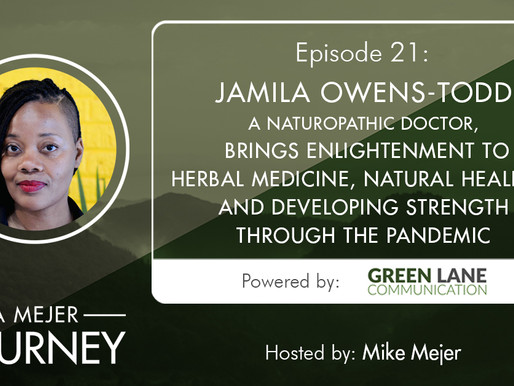 Episode 21: Jamila Owens-Todd, Brings Enlightenment to Herbal Medicine, Natural Healing, and More
