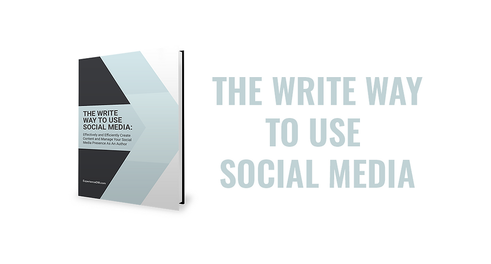 Effectively and Efficient Create Content and Manage Your Social Media Presence As An Author