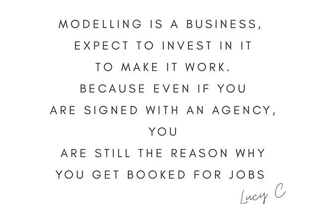 WHAT MAKES A MODEL A MODEL❓.... it is much more than just a pretty face