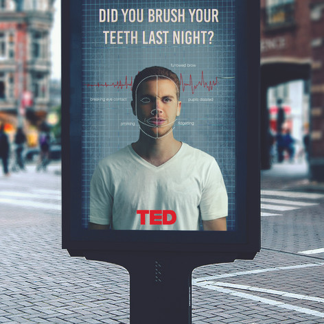 TED Lie Detector interactive campaign