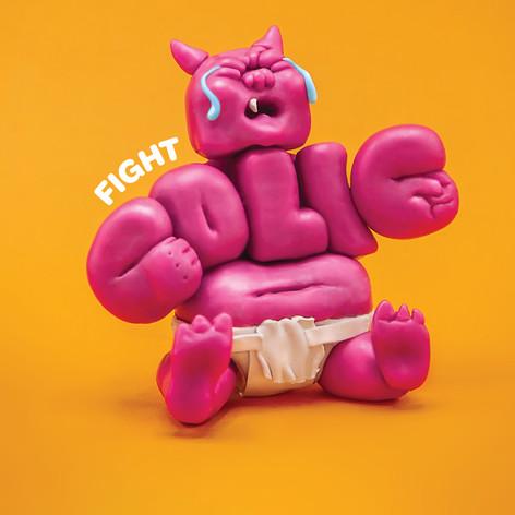 Happy Baby Yogi's Print Advertisement