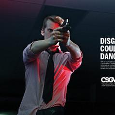 Coalition to Stop Gun Violence Print Ad Campaign