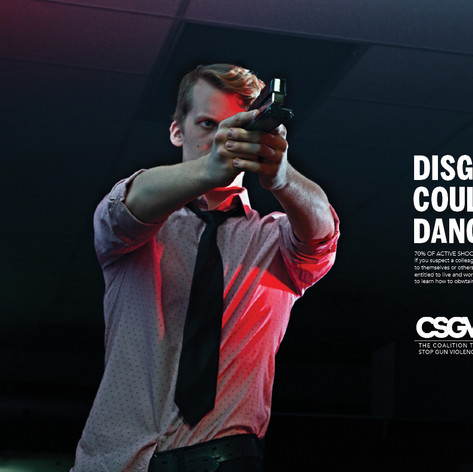 Coalition to Stop Gun Violence Print Ad Campaign