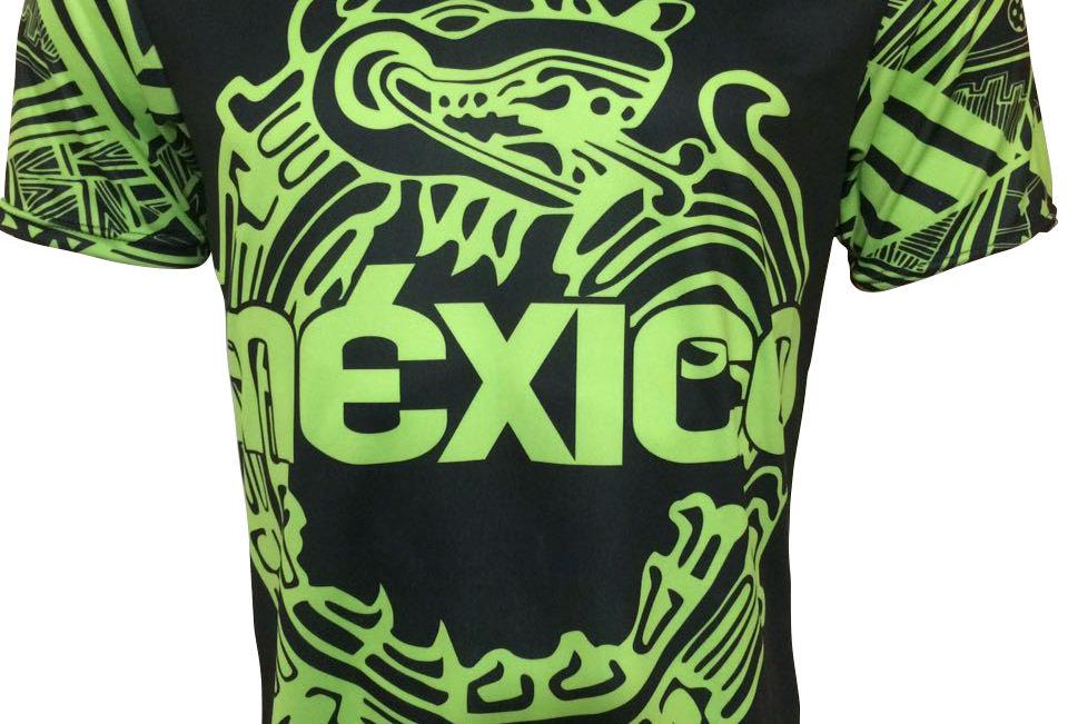Playera - México Fluo Green