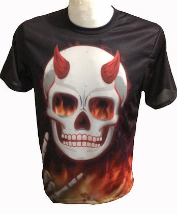 Playera - Devil Inside