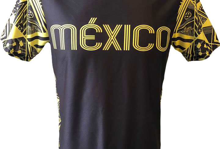 Playera - México Yellow