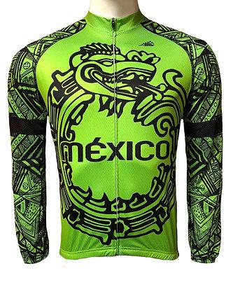 Jersey México fluo green ML.