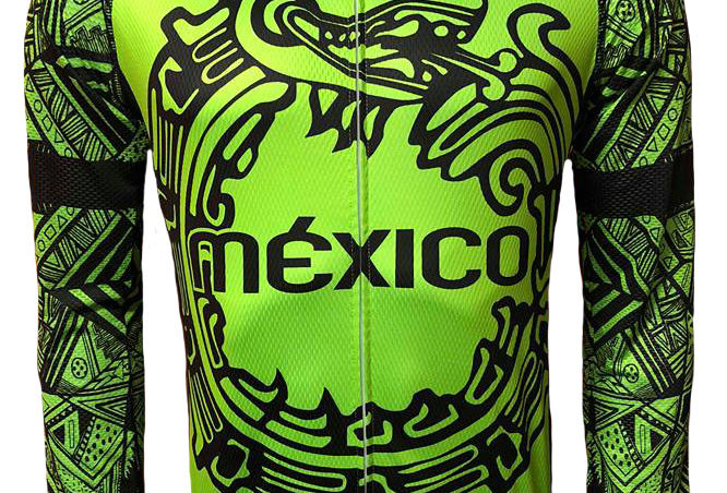 Jersey México fluo green ML.