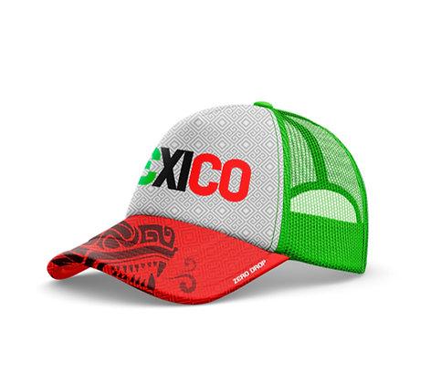 Trucker cap Yo Soy México blanca
