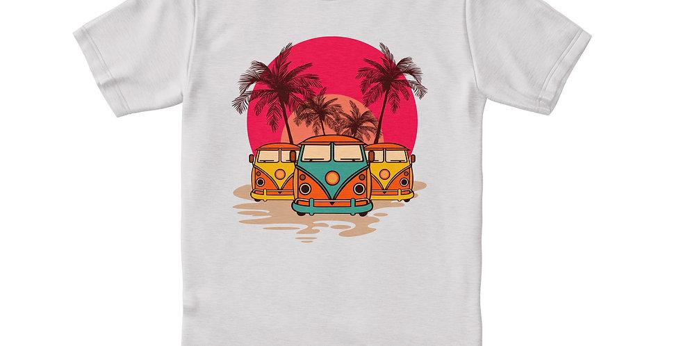 Palm trees blanca