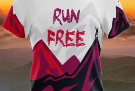 Playera Run free love trail running 2021