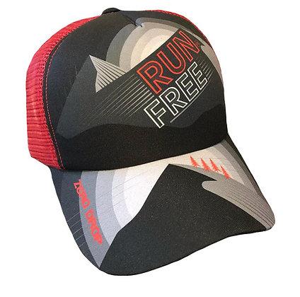 Gorra Trucker - Run Free Red