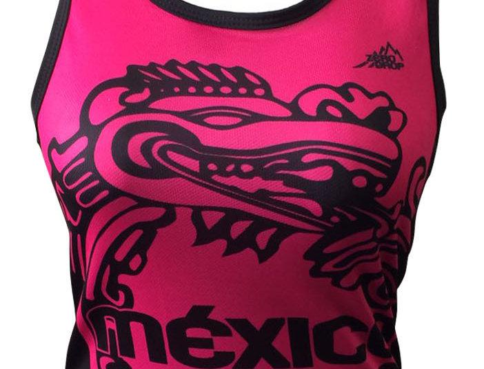 Tank top - México fluo pink