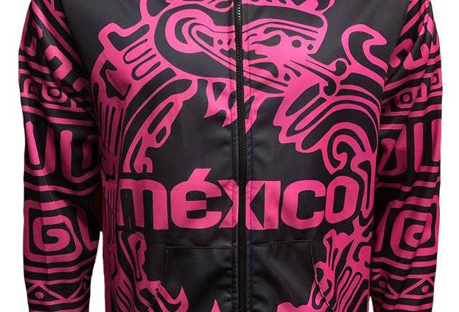 Chamarra - México Fluo Pink