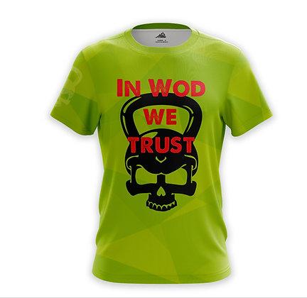 In Wod we Trust verde