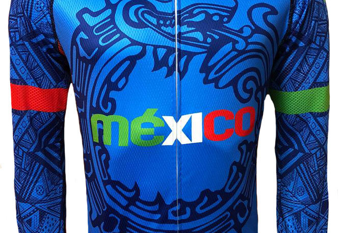Jersey México azul ML.