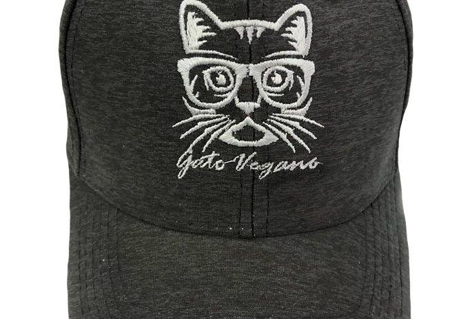 Copia de Gato Vegano cap silver