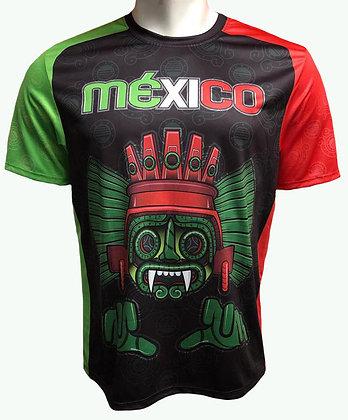 Playera - Tlaloc Tricolor