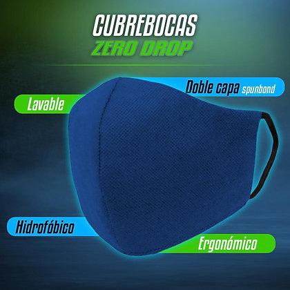 Cubrebocas Hipoalergénico 50 piezas BLUE
