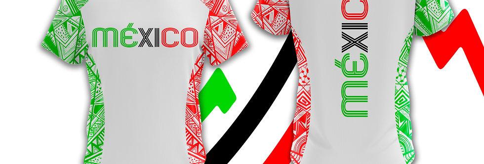 Playera - México Invencible blanca