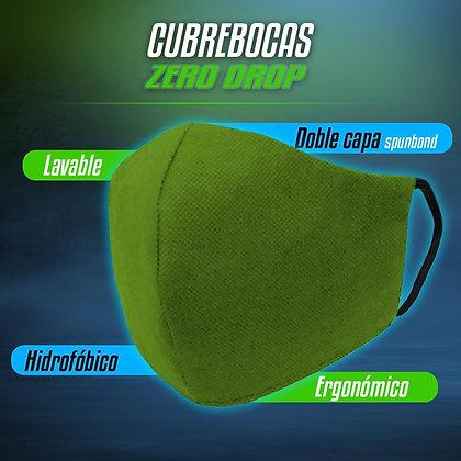 Cubrebocas Hipoalergénico 50 piezas GREEN