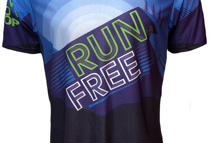 RUN FREE blue