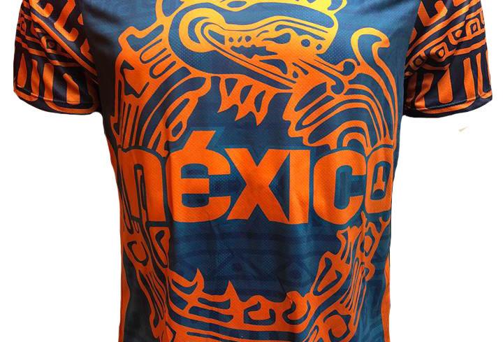 Playera - México Naranja
