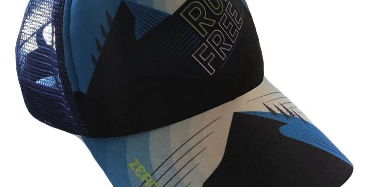 Gorra Trucker - Run Free Blue